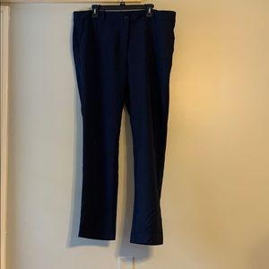 Pants - Navy ankle pant